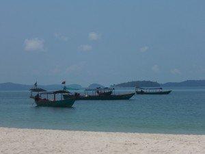 Sur la plage de Sihanoukville